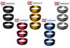 رینگ Target مدل Slot Lock Ring Plain -