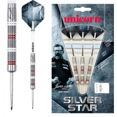 دارت Unicorn مدل Silver Star James Wade 80%Tungsten 24g -