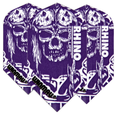 فلایت سرعتی Winmau مدل Rhino Slim Purple Skull
